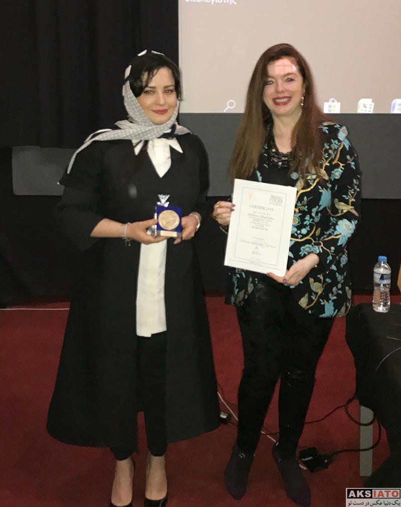 بازیگران بازیگران زن ایرانی  مهراوه شریفی نیا بهترین بازیگر جشنواره فیلم پل یونان (4 عکس)