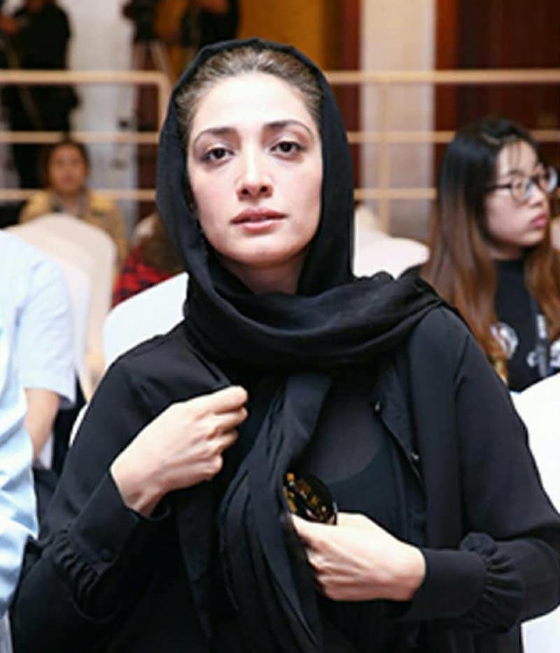 بازیگران بازیگران زن ایرانی  مینا ساداتی در هشتمین جشنواره فیلم پکن (4 عکس)
