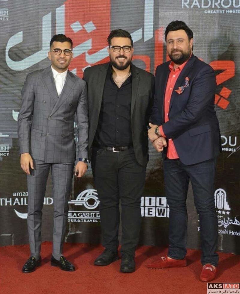 ورزشکاران ورزشکاران مرد  محسن مسلمان در مهمانی خصوصی فیلم چهارراه استانبول (3 عکس)