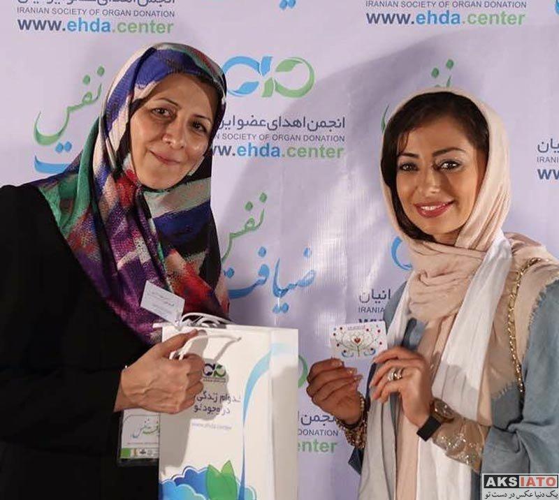 بازیگران بازیگران زن ایرانی  نفیسه روشن در پانزدهمین جشن نفس (4 عکس)