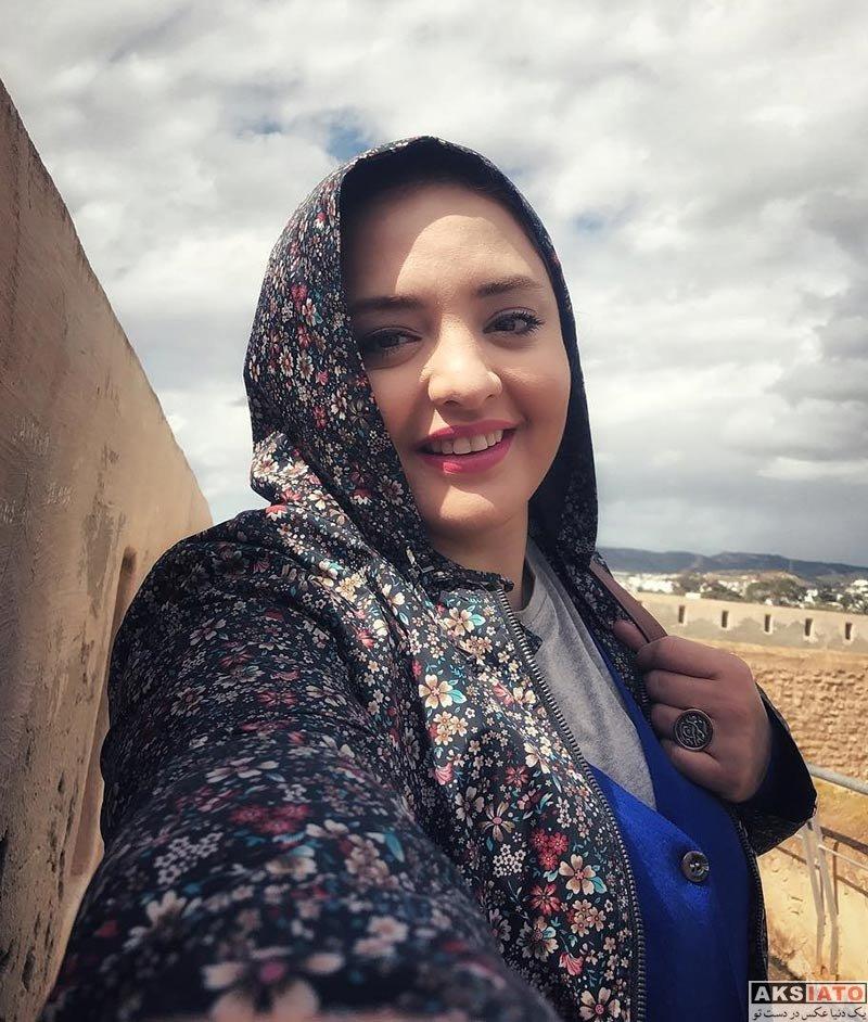 بازیگران بازیگران زن ایرانی  نرگس محمدی و همسرش در کشور تونس (3 عکس)