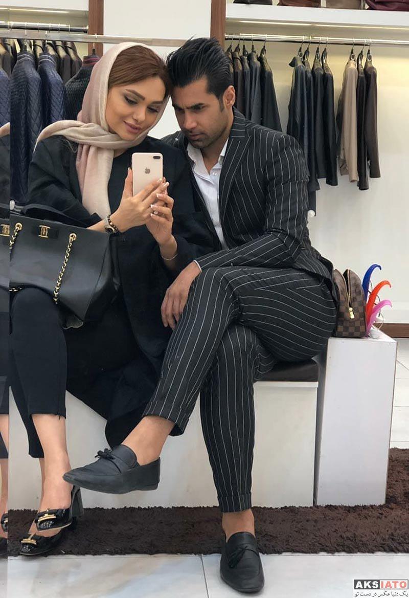 بازیگران  عکس های جدید نسیم نهالی و همسرش در اردیبهشت 97 (5 تصویر)