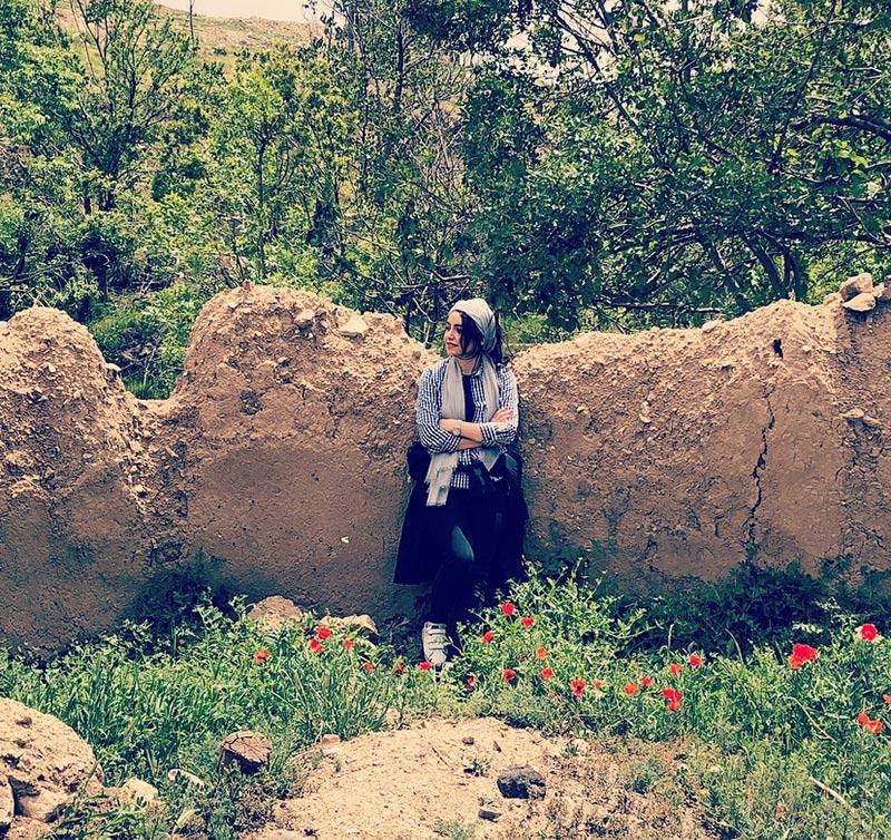 بازیگران بازیگران زن ایرانی  نازنین بیاتی در یک روستای بسیار زیبا (4 عکس)