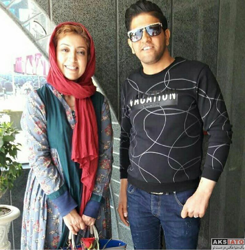 بازیگران بازیگران زن ایرانی  عکس های نگار عابدی بازیگر سریال سر دلبران در اردیبهشت 97