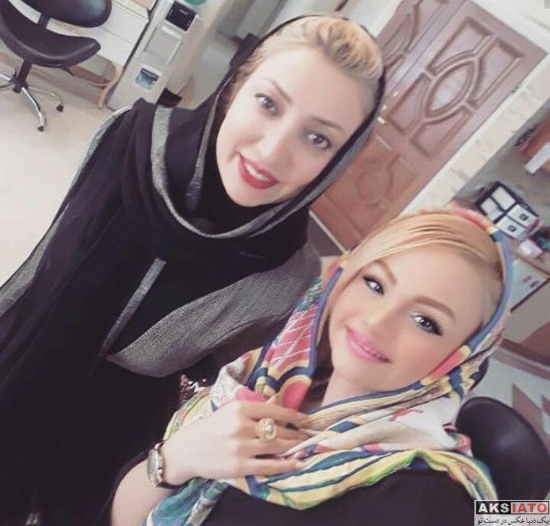 بازیگران بازیگران زن ایرانی  عکس های نگار عابدی در سالن زیبایی (2 تصویر)