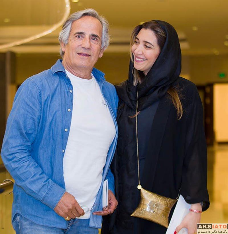 بازیگران بازیگران زن ایرانی  نیکی مظفری در مهمانی خصوصی فیلم چهارراه استانبول (2 عکس)