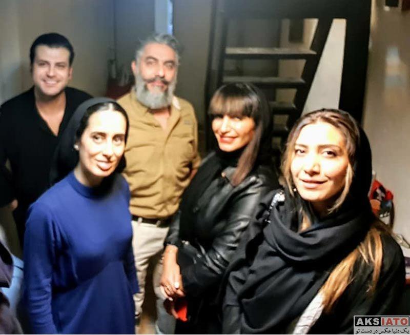 بازیگران بازیگران زن ایرانی  نیکی مظفری در اجرای نمایش مرثیه ای برای یک دختر (۳ عکس)