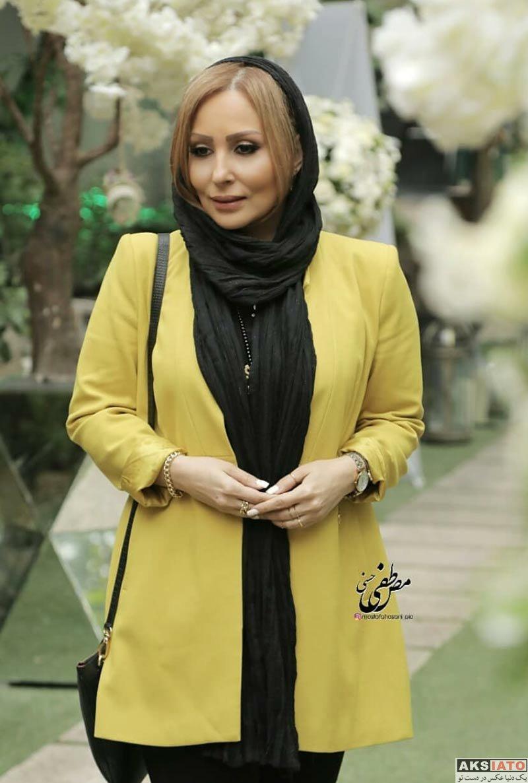 بازیگران بازیگران زن ایرانی  پرستو صالحی در مراسم رونمایی از عطر بهاره رهنما (۵ عکس)