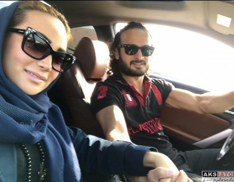 بازیگران بازیگران زن ایرانی  عکس های جدید پیمان حسینی و همسرش (4 تصویر)