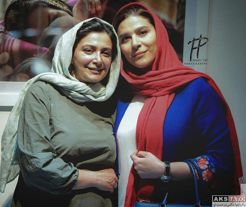 بازیگران بازیگران زن ایرانی  سحر دولتشاهی در نمایشگاه عکس زن ماندگی (۲ عکس)