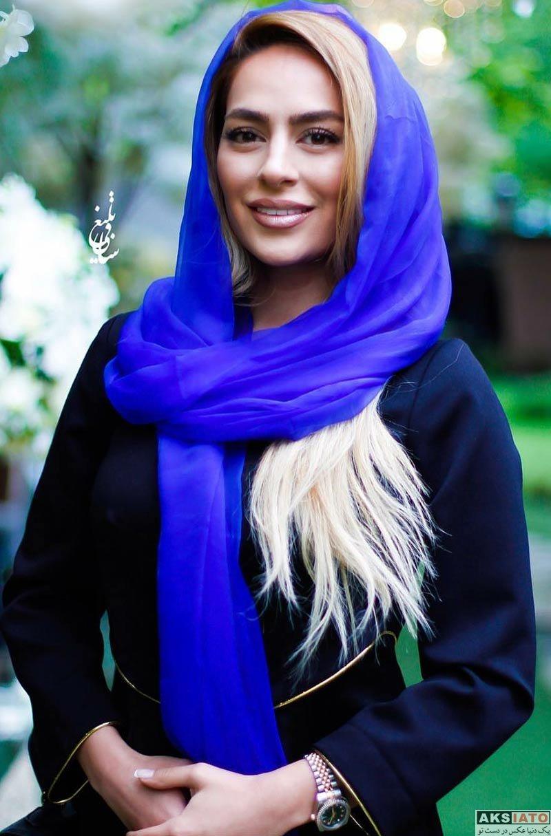 بازیگران بازیگران زن ایرانی  سمانه پاکدل در مراسم رونمایی از عطر بهاره رهنما (۴ عکس)