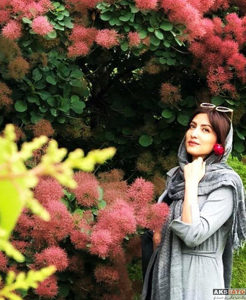 بازیگران بازیگران زن ایرانی  عکسهای سمیرا حسینی در اردیبهشت ماه ۹۷ (7 عکس)