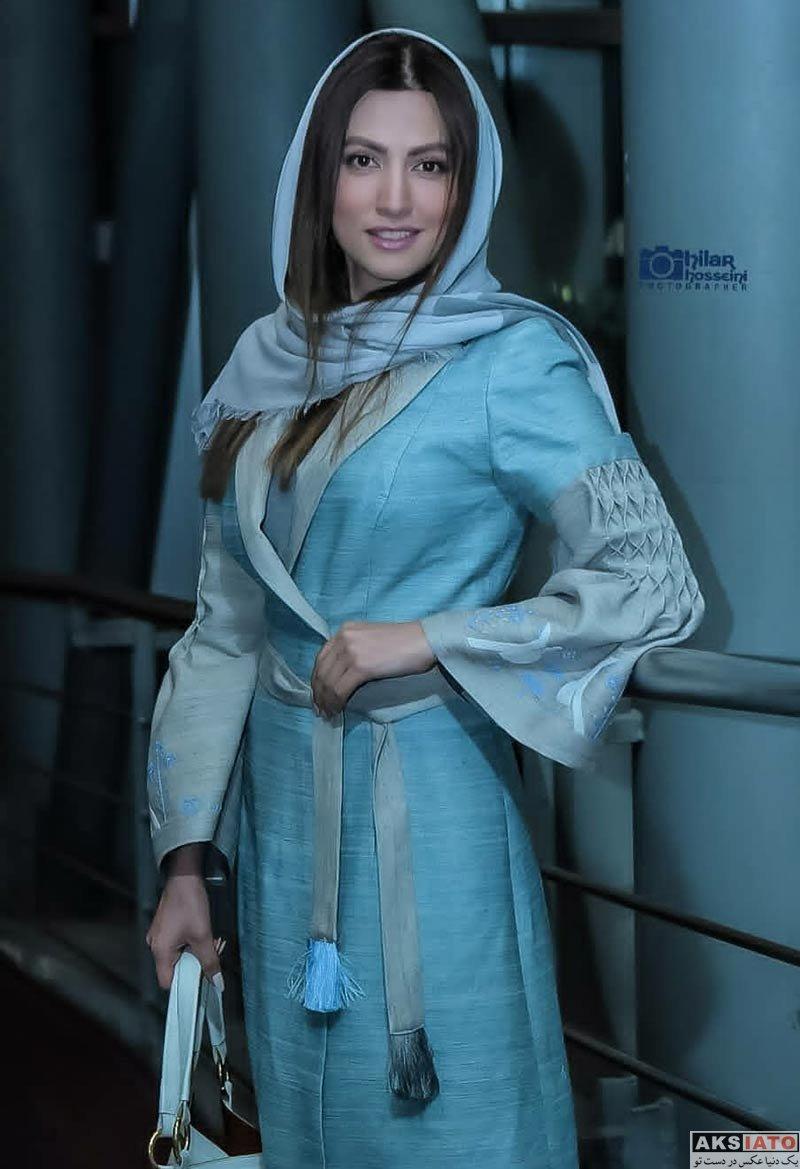 بازیگران بازیگران زن ایرانی  عکس های سمیرا حسینی در اکران مردمی فیلم خجالت نکش