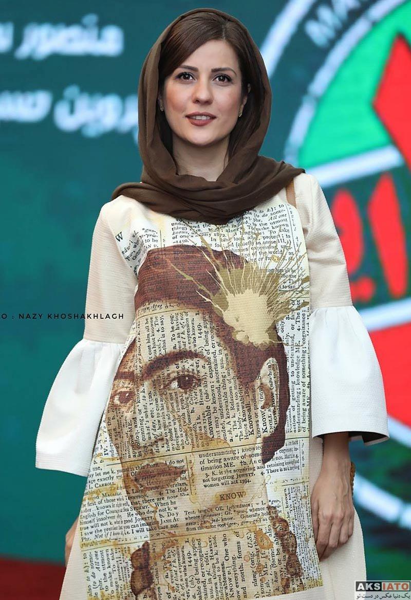 بازیگران بازیگران زن ایرانی  سارا بهرامی در جشن سریال ساخت ایران ۲ (6 عکس)