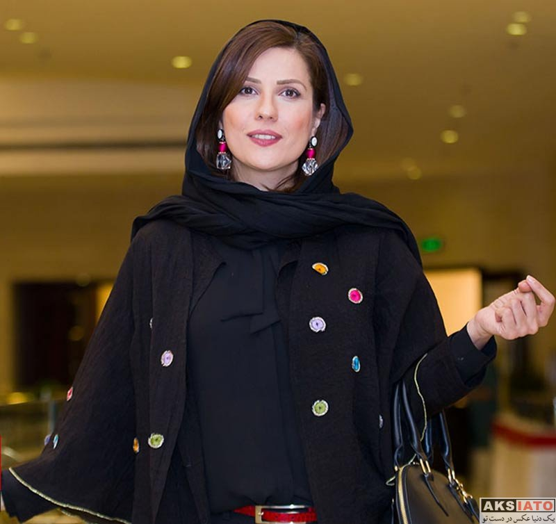 بازیگران بازیگران زن ایرانی  سارا بهرامی در مهمانی خصوصی فیلم چهارراه استانبول (۴ عکس)