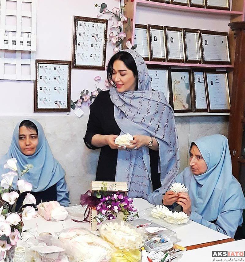 بازیگران بازیگران زن ایرانی  عکسهای سارا منجزی در اردیبهشت ماه 97 (8 تصویر)