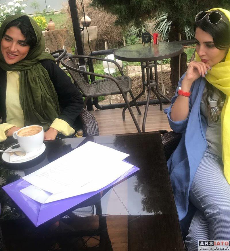 بازیگران بازیگران زن ایرانی  عکسهای جدید سارا رسول زاده در اردیبهشت 97 (10 تصویر)
