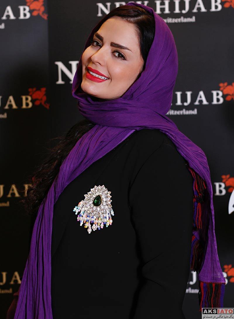 بازیگران بازیگران زن ایرانی  سپیده خداوردی در ایونت فروشگاه حجاب استایل (۲ عکس)