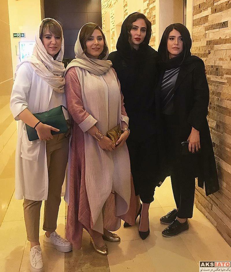 بازیگران بازیگران زن ایرانی  ستاره پسیانی در مهمانی خصوصی فیلم چهارراه استانبول (4 عکس)