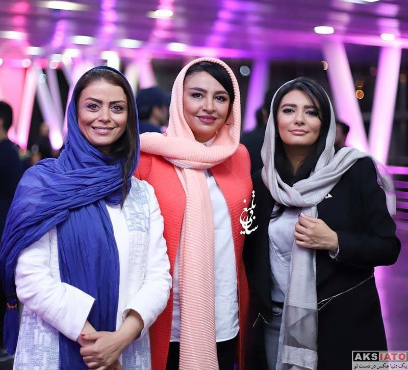 بازیگران بازیگران زن ایرانی  شبنم فرشادجو در اکران خصوصی فیلم خجالت نکش (3 عکس)