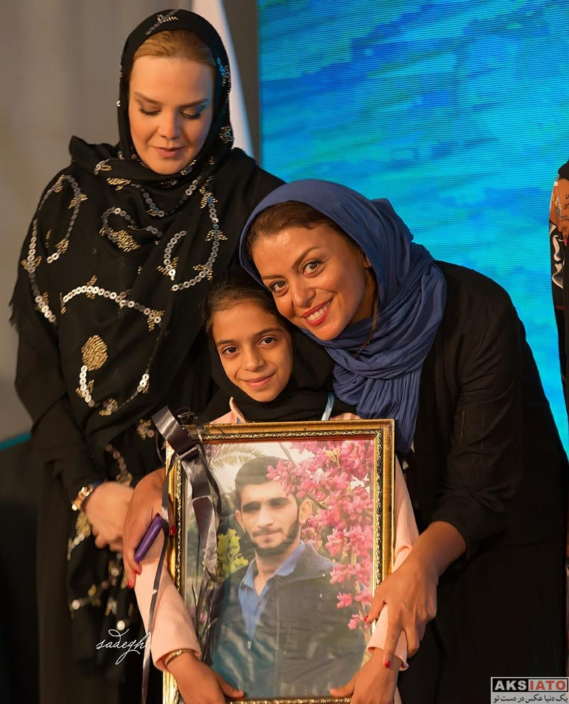 بازیگران بازیگران زن ایرانی  شبنم فرشادجو در پانزدهمین جشن نفس (3 عکس)