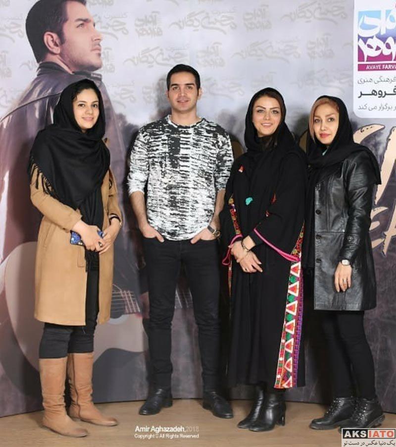 بازیگران بازیگران زن ایرانی  شبنم فرشادجو در کنسرت محسن یگانه (3 عکس)