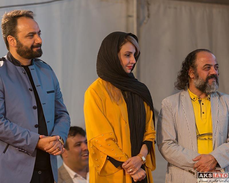 بازیگران بازیگران زن ایرانی  شبنم قلی خانی در پانزدهمین جشن نفس (3 عکس)