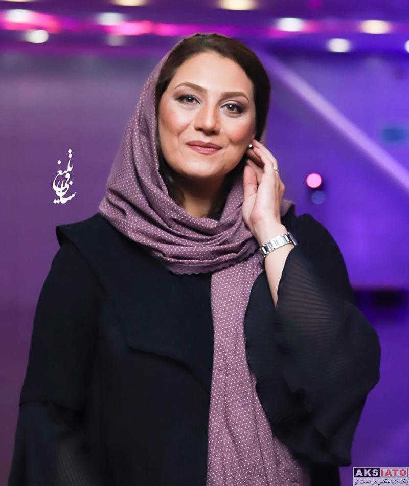 بازیگران بازیگران زن ایرانی  شبنم مقدمی در جشن سریال ساخت ایران ۲ (۵ عکس)