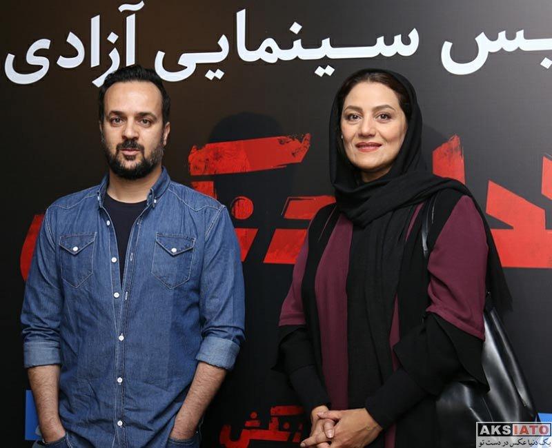 بازیگران بازیگران زن ایرانی  تصاویر شبنم مقدمی در اکران فیلم خجالت نکش در سینما آزادی