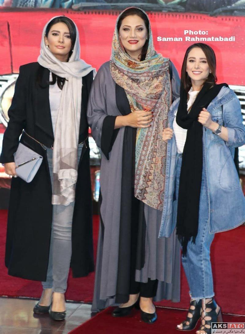 بازیگران بازیگران زن ایرانی  شبنم مقدمی در اکران خصوصی فیلم خجالت نکش (4 عکس)