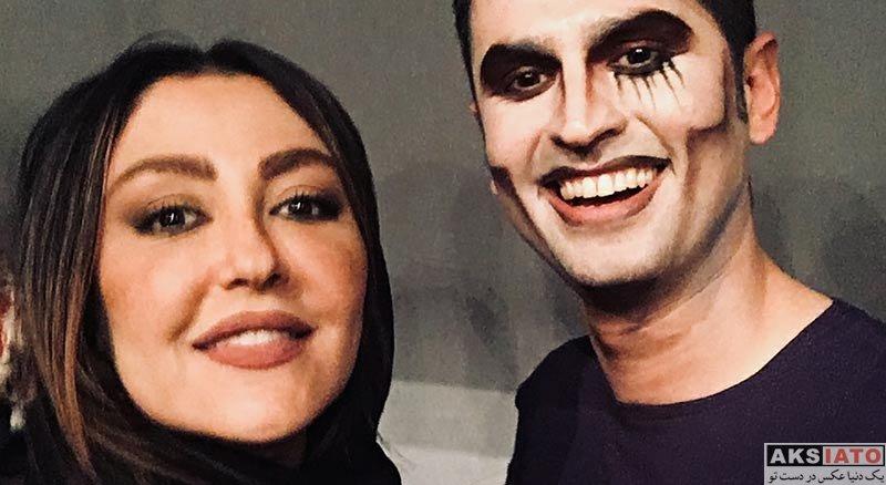 بازیگران بازیگران زن ایرانی  شقایق فراهانی در اجرای نمایش سرآشپز پیشنهاد میکند (3 عکس)