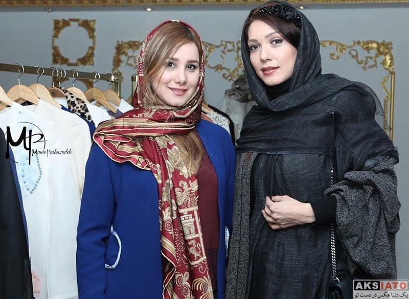 بازیگران بازیگران زن ایرانی  شهرزاد کمال زاده در مزون ماریه پاشازاده (3 عکس)