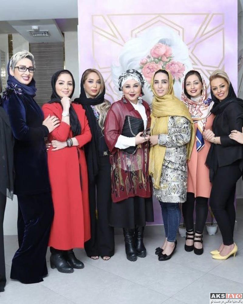 بازیگران بازیگران زن ایرانی  سوگل طهماسبی در ایونت سالن زیبایی مینل (4 عکس)