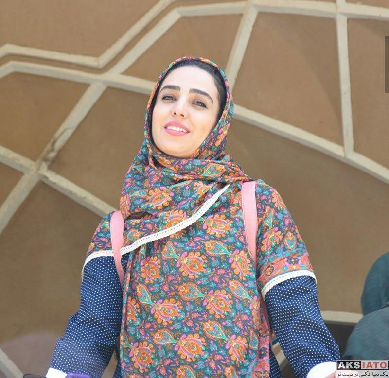بازیگران بازیگران زن ایرانی  عکس های سوگل طهماسبی در شهر یزد (5 تصویر)