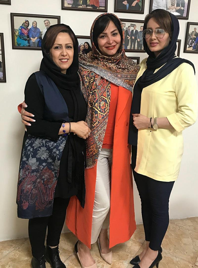 بازیگران بازیگران زن ایرانی  سولماز حصاری در کلینیک زیبایی بهاران (3 عکس)