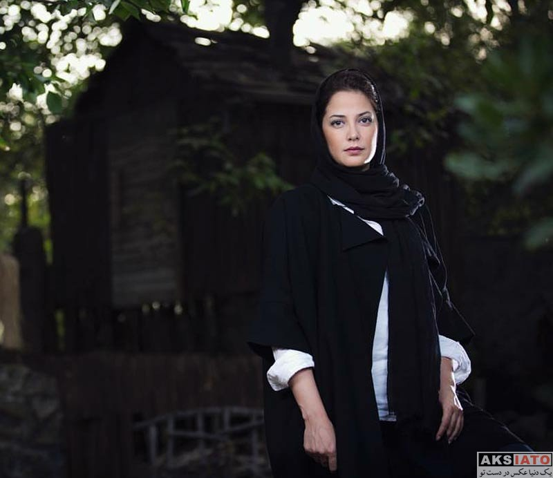 بازیگران بازیگران زن ایرانی عکس آتلیه و استودیو  فتوشات های طناز طباطبایی در یک باغ زیبا (5 عکس)