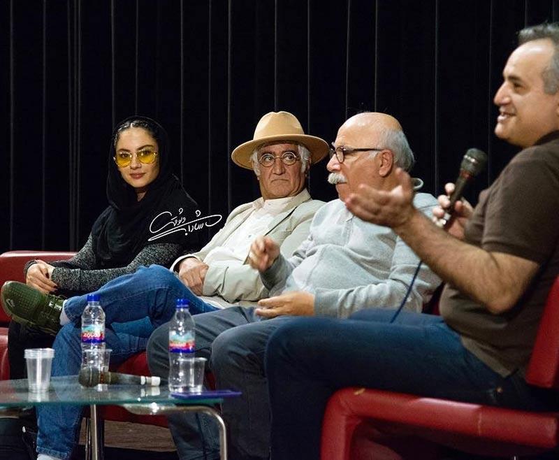 بازیگران بازیگران زن ایرانی  ترلان پروانه در جلسه نقد و بررسی فیلم فراری (3 عکس)