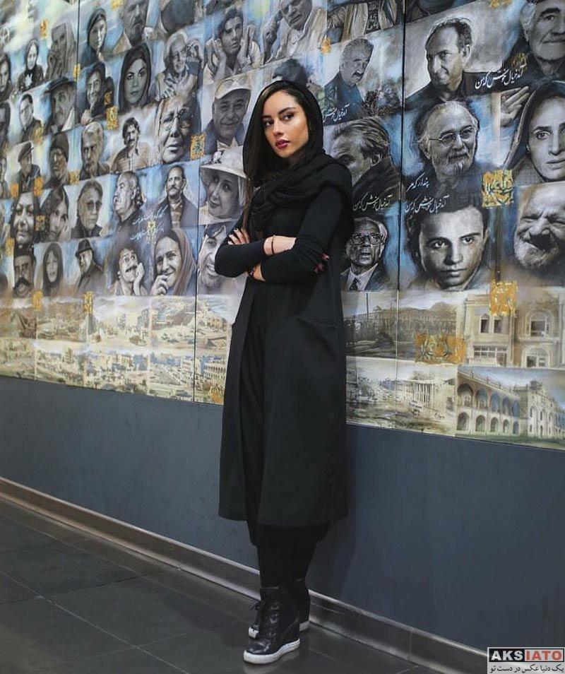 بازیگران بازیگران زن ایرانی  عکس های ترلان پروانه در مراسم اکران مردمی فیلم «فراری»