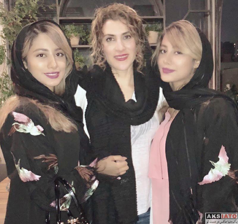 بازیگران بازیگران زن ایرانی  ویشکا آسایش در جلسه فیلم ما همه باهم هستیم (3 عکس)