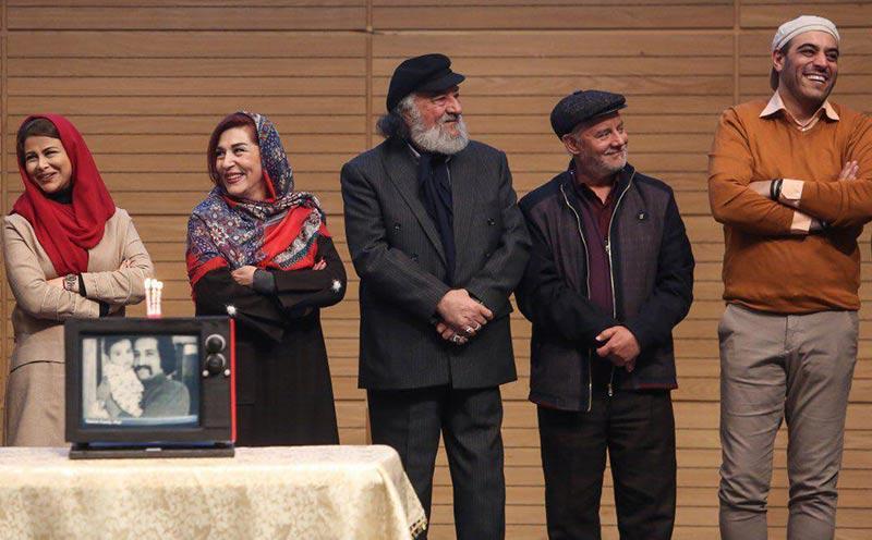 بازیگران بازیگران زن ایرانی خانوادگی  یاسمینا باهر و همسرش در جشن تولد لبخند در مشهد (3 عکس)