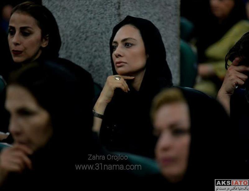 بازیگران بازیگران زن ایرانی  یکتا ناصر در مراسم ختم زنده یاد ناصر ملک مطیعی (2 عکس)