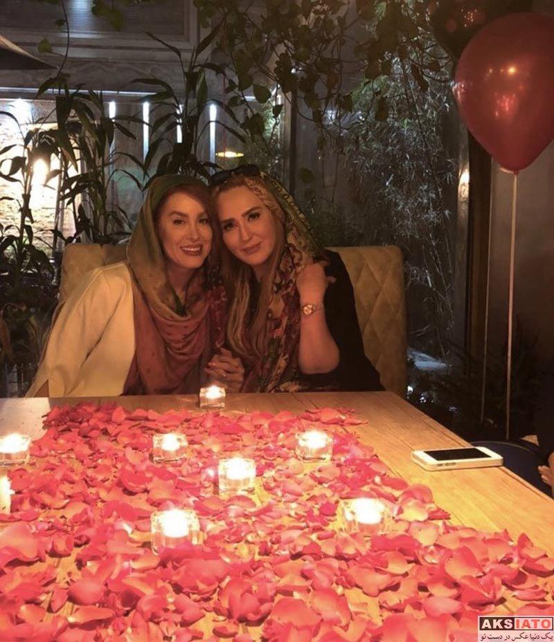 بازیگران بازیگران زن ایرانی  زهره فکور صبور در جشن تولد دوستش (3 عکس)