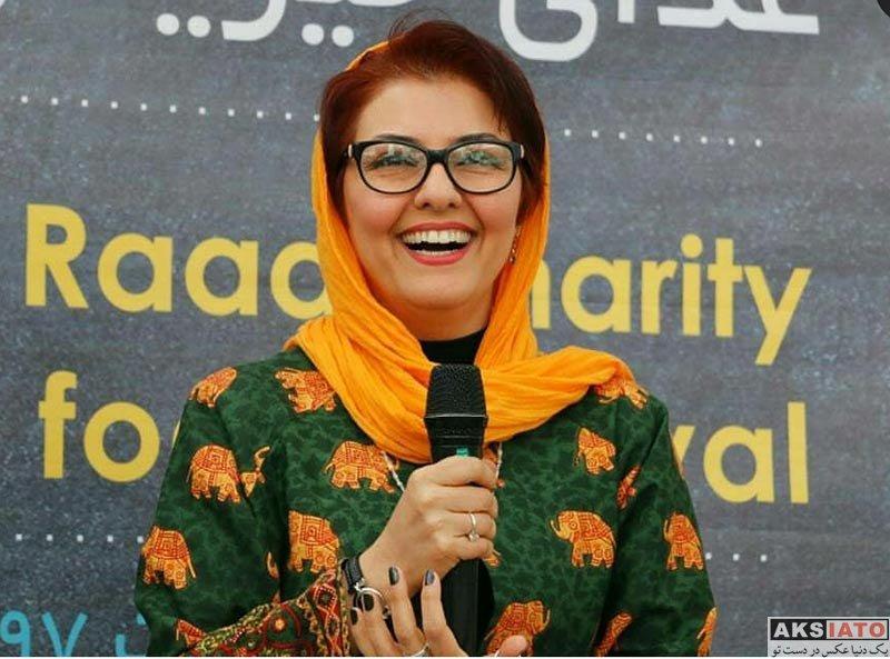 بازیگران بازیگران زن ایرانی  آناهیتا همتی در 21مین جشنواره غذای خیریه رعد (4 عکس)