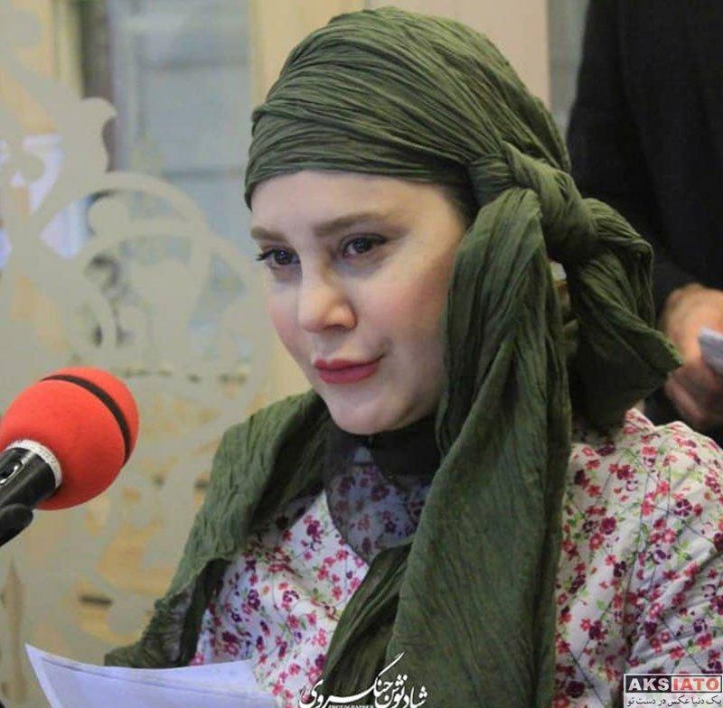 بازیگران بازیگران زن ایرانی  عکس های آرام جعفری در خرداد ماه 97 (8 تصویر)