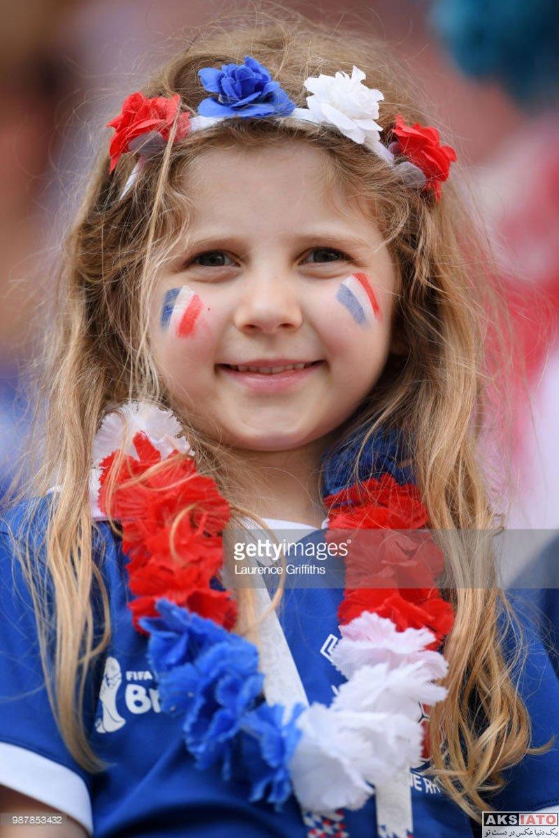 بازیگران  تماشاگران بازی تیم ملی آرژانتین و فرانسه (16 عکس)