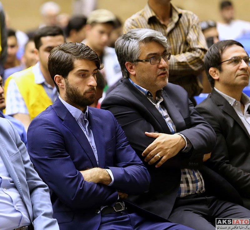 ورزشکاران ورزشکاران مرد  مراسم استقبال از کریم انصاری فرد در اردبیل (4 عکس)