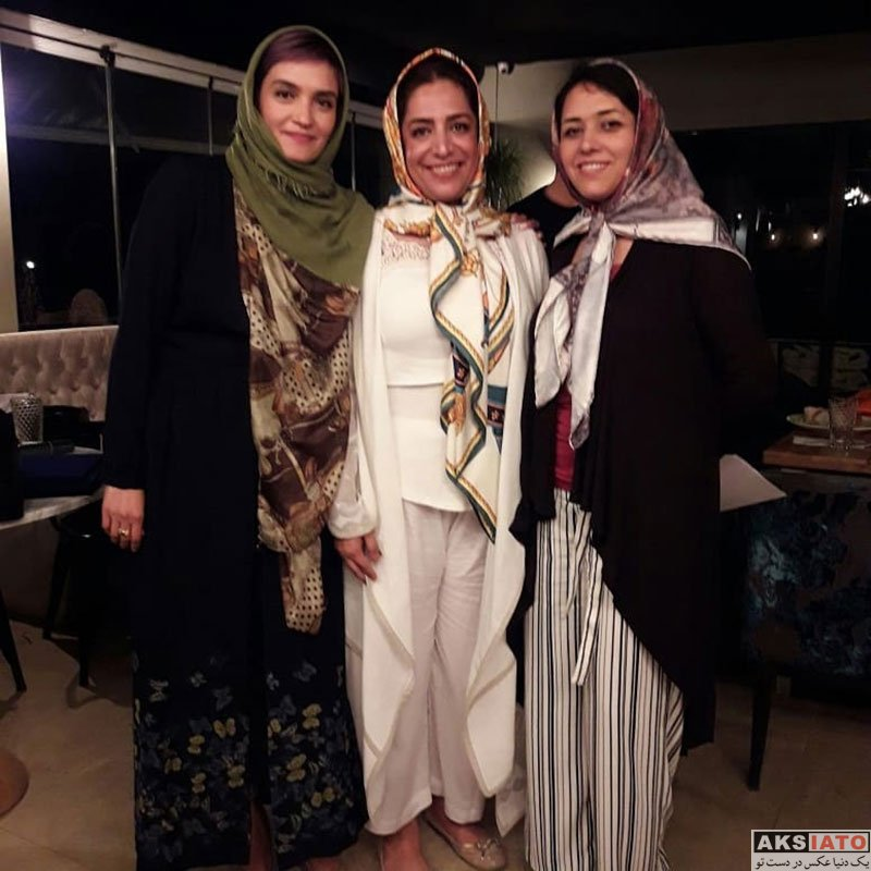 بازیگران بازیگران زن ایرانی  میترا حجار در مراسم افطاری حامیان حیوانات تهران (4 عکس)