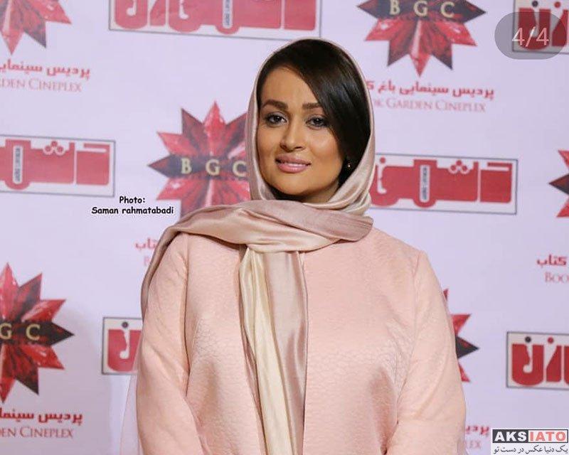 بازیگران بازیگران زن ایرانی  مونا شناس در اکران خصوصی فیلم دشمن زن (5 عکس)