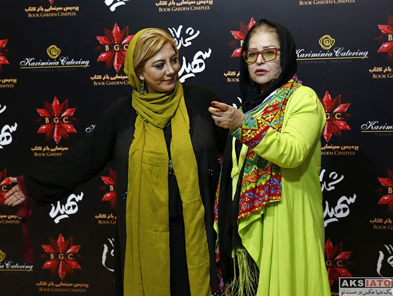 بازیگران بازیگران زن ایرانی  اکرم محمدی در اکران خصوصی فیلم شماره ۱۷ سهیلا (2 عکس)