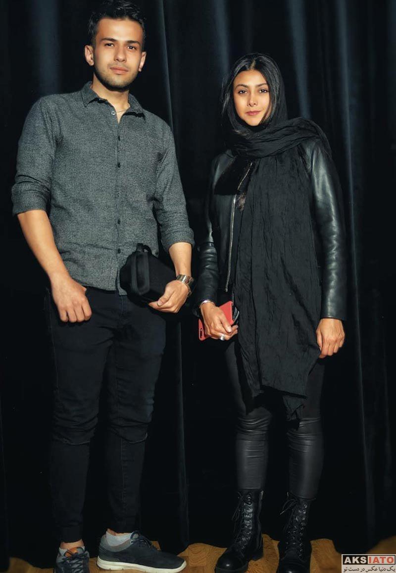 بازیگران بازیگران زن ایرانی  آزاده صمدی در کنار هوادارنش در کشور آلمان (4 عکس)
